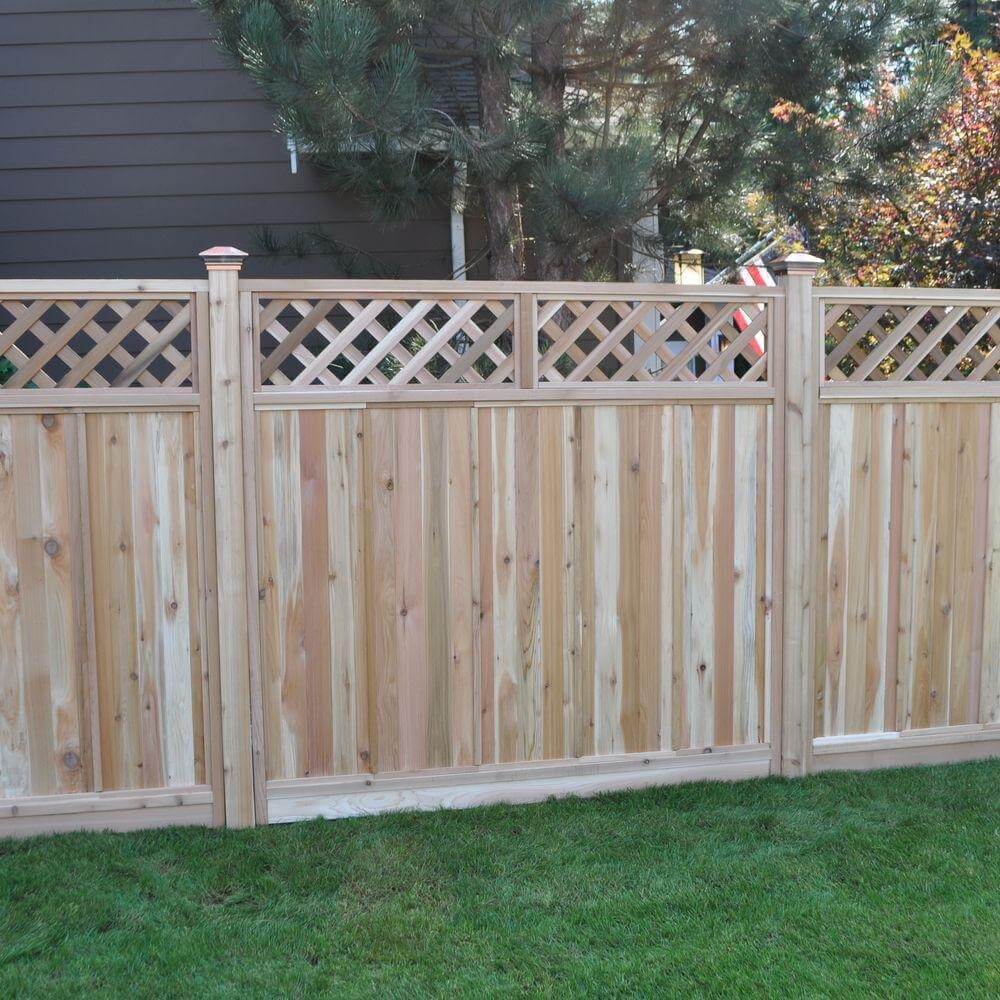 75 Fence Designs Styles Patterns Tops Materials And Ideas within Types Of Wood Fences For Backyard
