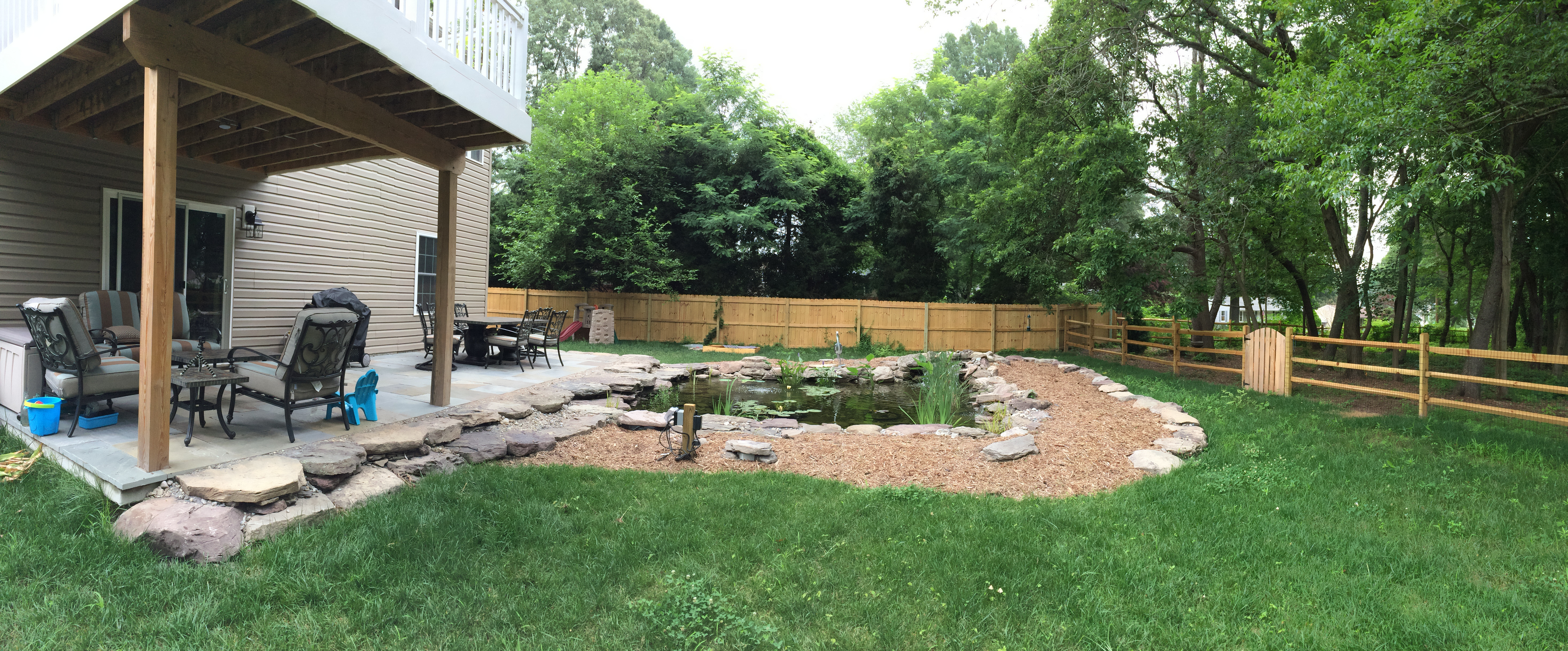 A Backyard Idea Set In Severn Md Premier Ponds Of Maryland Dc in 12 Some of the Coolest Designs of How to Build New Backyard Ideas