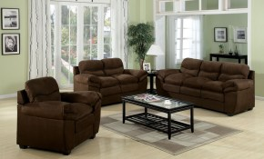 Acme Standford Easy Rider Microfiber Living Room Set In Chocolate within 14 Smart Ideas How to Craft Microfiber Living Room Set