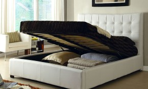 Athens White Queen Size Bed Athens At Home Usa Modern Beds Comfyco pertaining to 10 Clever Ideas How to Improve King Size Bedroom Sets Modern