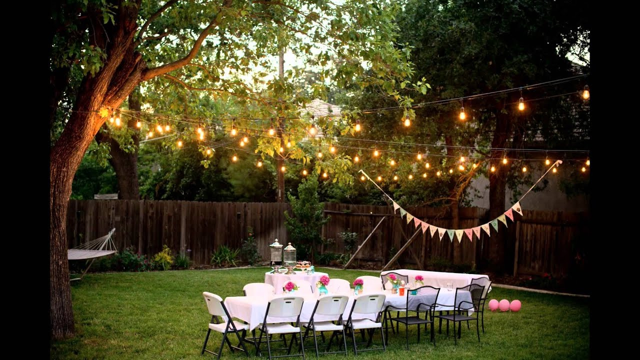 Backyard Decorations Youtube regarding 16 Smart Designs of How to Makeover Ideas To Decorate Backyard
