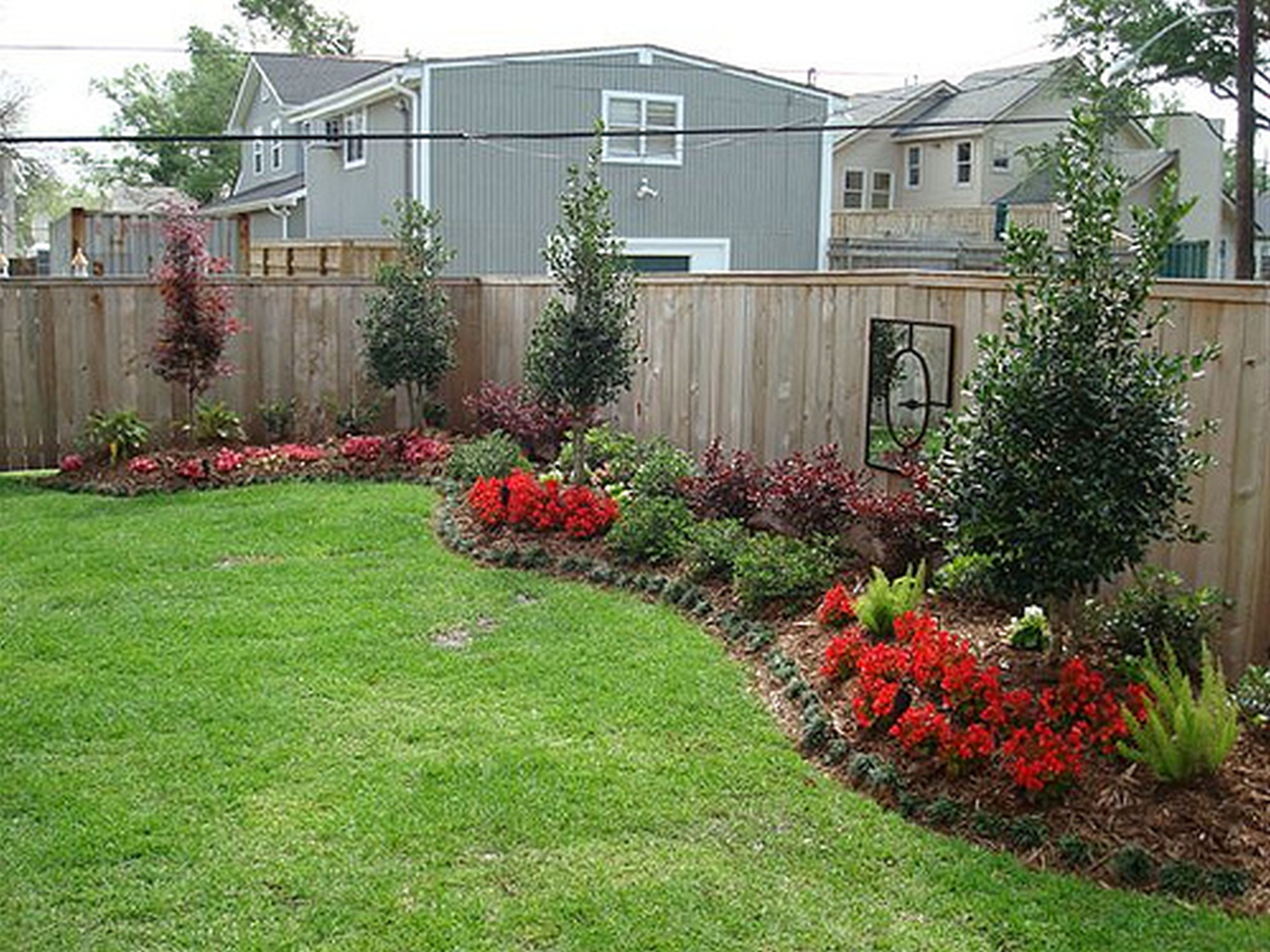Backyard Landscape Designs With Landscape Design Firms With Easy intended for Landscape Designs For Backyard