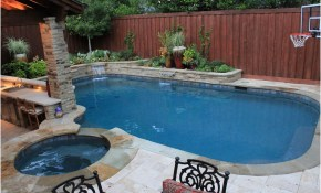 Backyard With Pools Decor Ideas For Backyard With Pools in Backyard Pool Decor