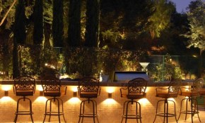 Best Backyard Lighting Ideas For A Party Real Bar And Bistro with Backyard Party Lighting Ideas