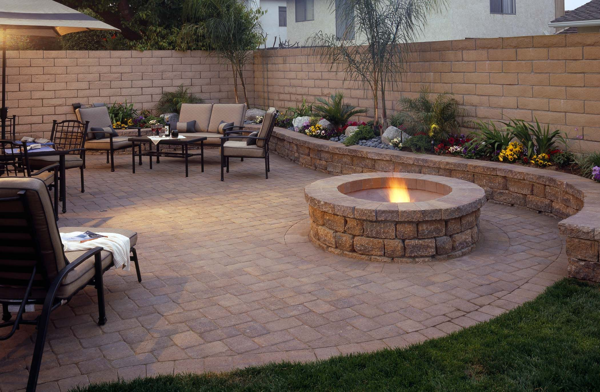 Best Backyard Paver Patio Ideas Designs Design Idea And Decor within 11 Smart Initiatives of How to Craft Backyard Stone Patio Design Ideas