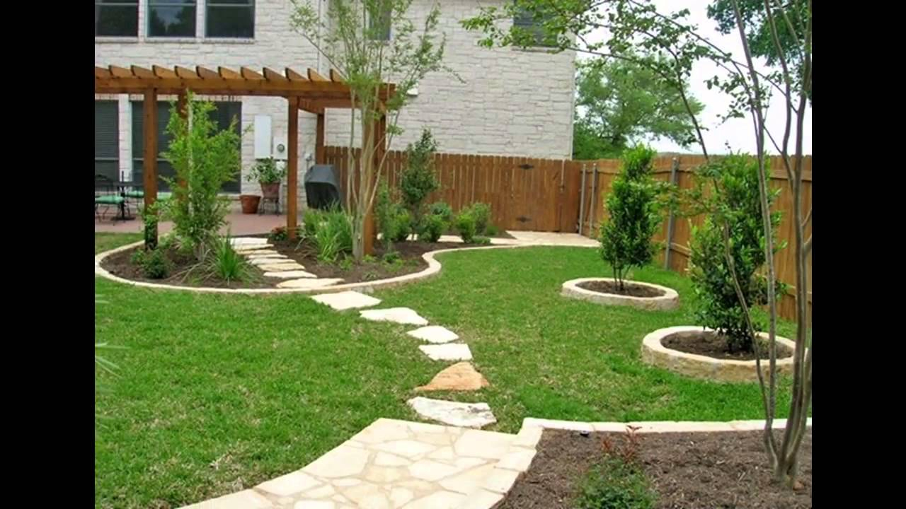 Best Home Yard Landscape Design Youtube within How To Design Your Backyard Landscape