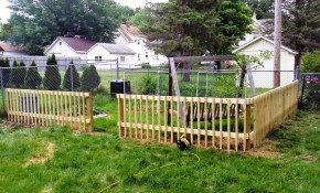 Cheap Fence Ideas For Dogs Examples And Forms pertaining to Cheap Backyard Fencing