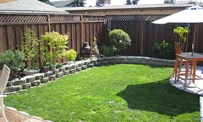 Clever Design Small Yard Landscaping Designs Yards Big Diy Before intended for Diy Backyard Landscaping Design Ideas