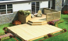 Decking Wonderful Outdoor Home Design With Backyard Deck Ideas pertaining to 10 Awesome Ways How to Craft Backyard Decks And Patios Ideas