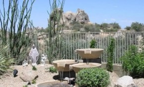 Desert Landscape Ideas For Backyards Home Landscaping Backyard pertaining to Backyard Desert Landscaping
