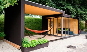 Double Your Outdoor Space With This Backyard Room Design Milk inside 13 Some of the Coolest Tricks of How to Upgrade Backyard Cabin Ideas