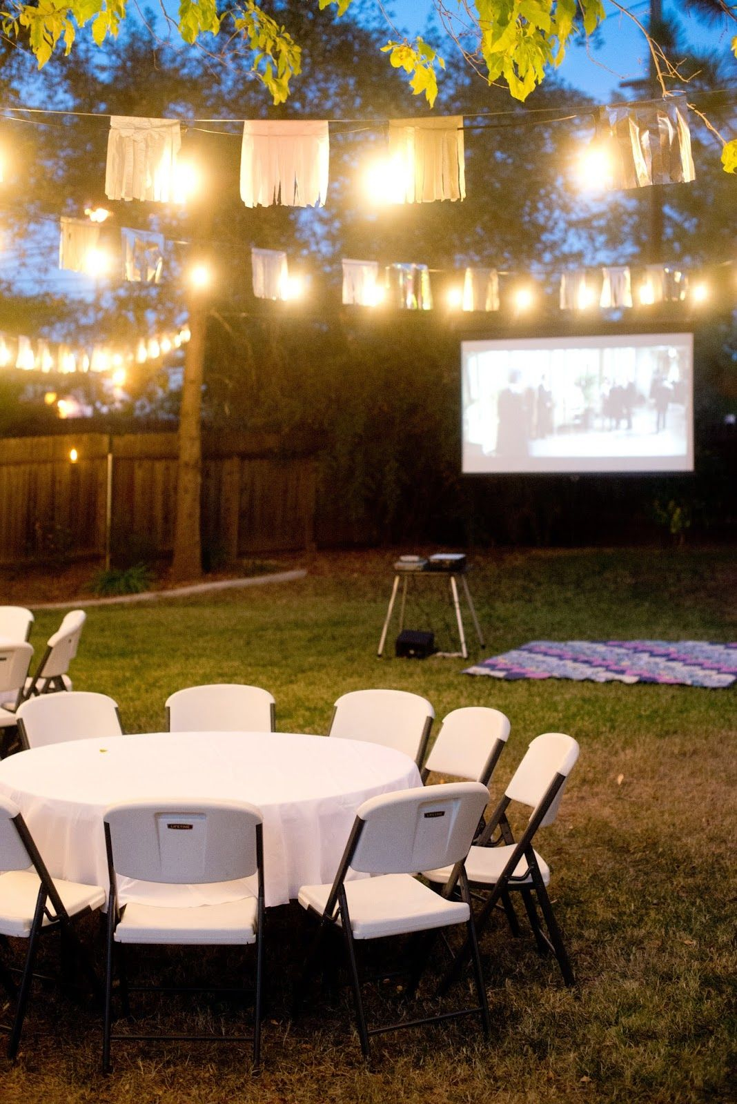 Fall Backyard Birthday Party And Movie Night Diy Home Decor Ideas in 15 Smart Concepts of How to Make Backyard Birthday Party Ideas For Adults