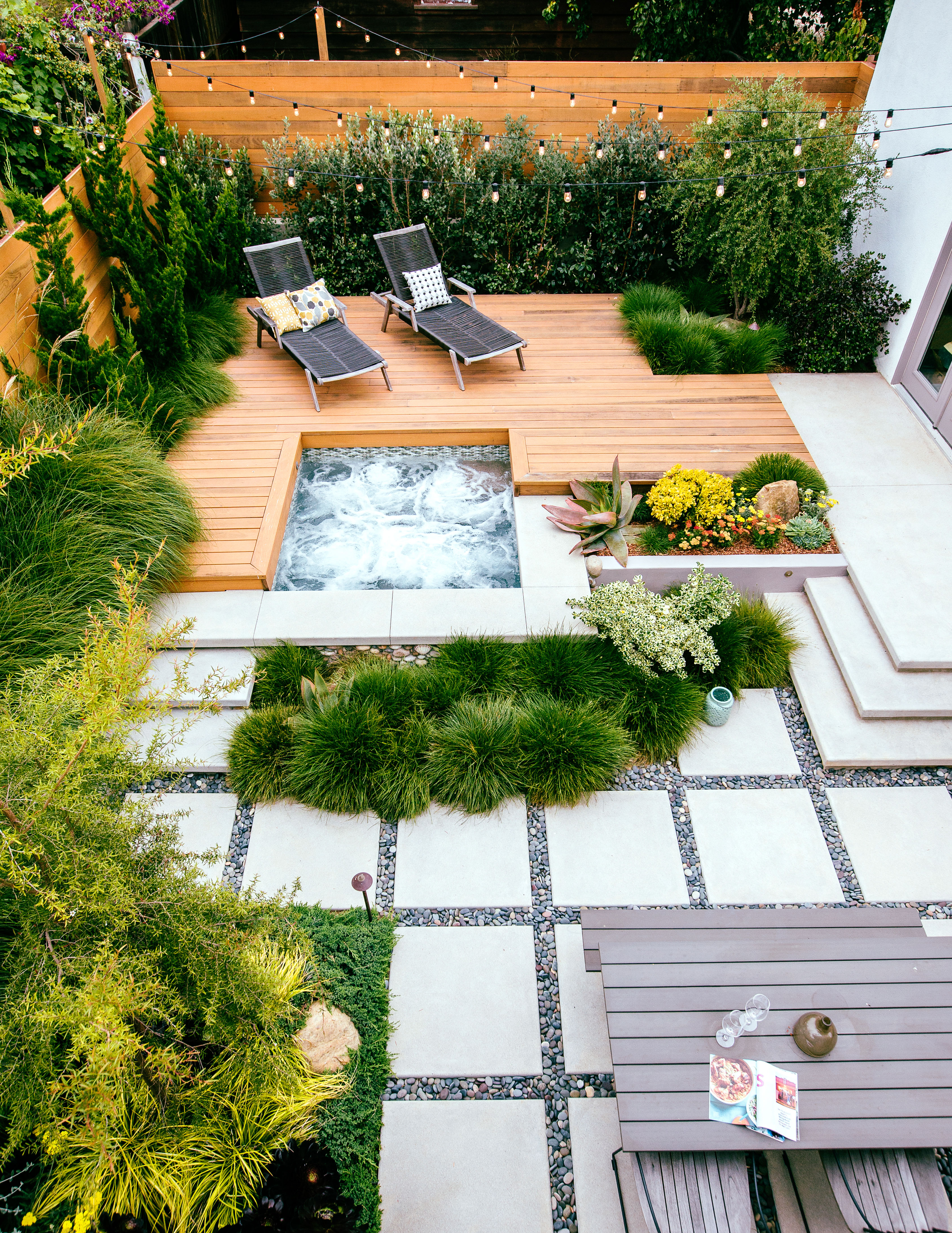 Great Deck Ideas Sunset Magazine in Sloped Backyard Deck Ideas
