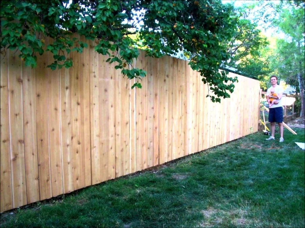 How Much Cost Fence Backyard 28 Images Wood Fence Cost regarding Fence Backyard Cost
