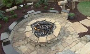 How To Build A Fire Pit Diy Fire Pit How Tos Diy in Backyard Firepit Ideas