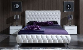 How To Create A Clean Calm Modern King Bedroom Sets White inside King Size Bedroom Sets Modern