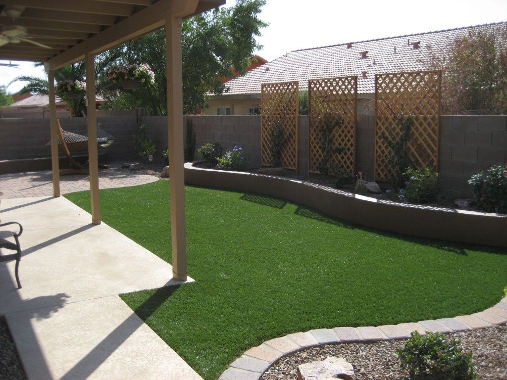 Landscape Ideas For Small Rectangular Backyard Landscaping Small in 11 Clever Designs of How to Upgrade Arizona Backyard Landscaping Ideas
