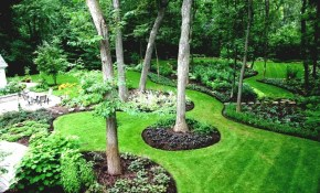 Large Backyard Frugal Landscaping Outdoor Frugal Landscaping Ideas pertaining to Large Backyard Landscaping Ideas
