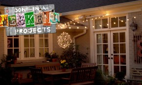 Light Up Your Life How To Add String Lights To Your Yard Youtube for Backyard Party Lighting Ideas