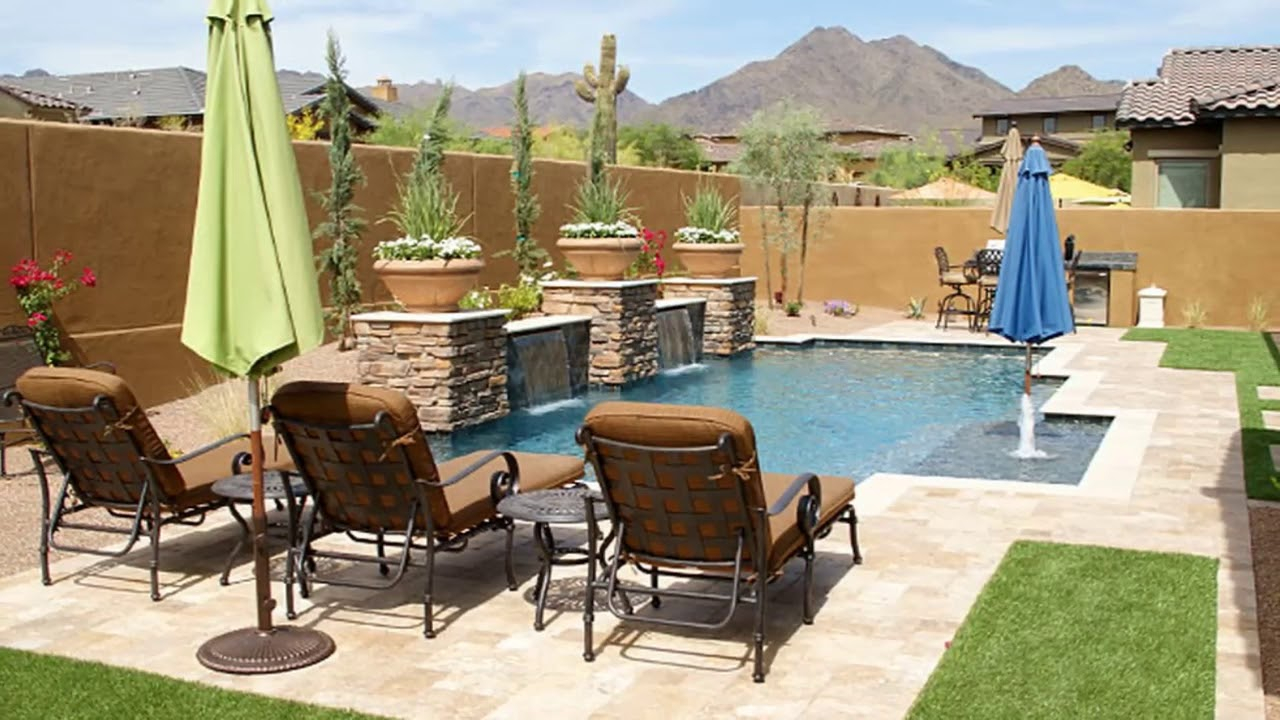 Modern Backyard Arizona Backyard Ideas On A Budget Small Backyard intended for Arizona Backyard Landscaping Ideas
