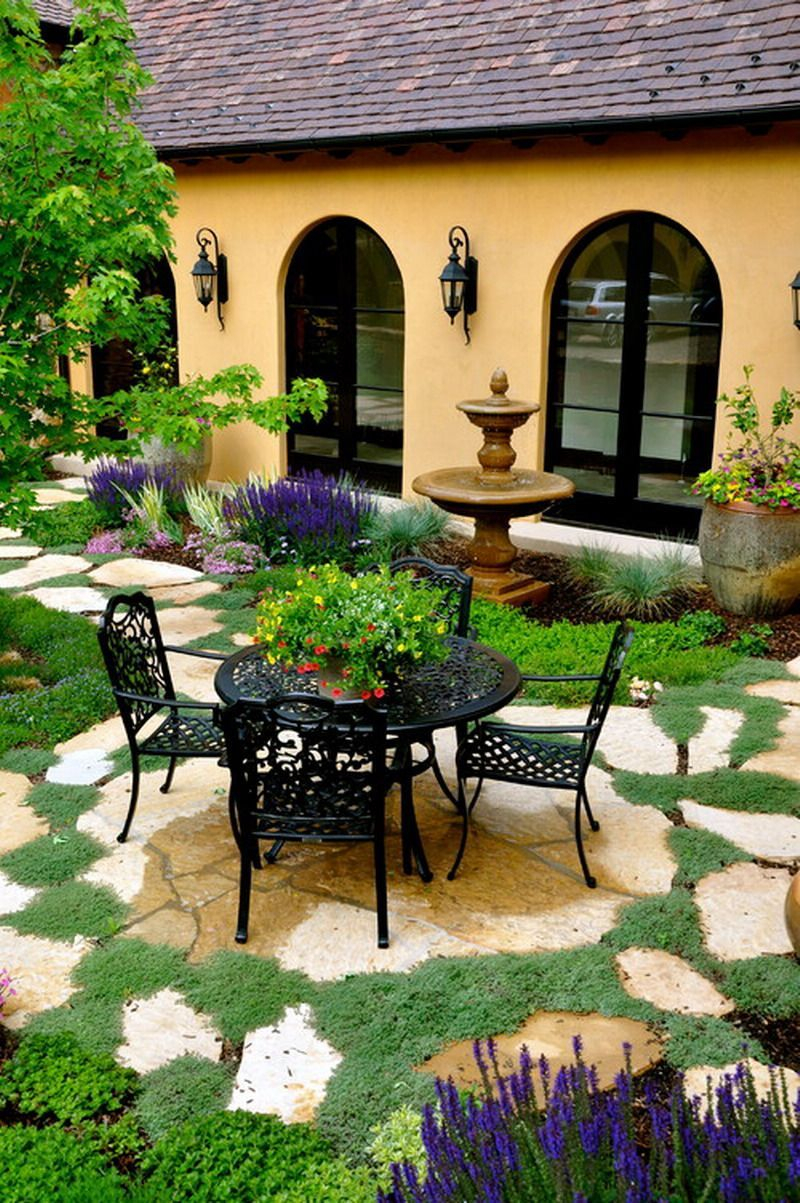 Nice Tuscany Style Garden Patio Landscape Ideas 10 Downing Street intended for Tuscan Style Backyard Ideas