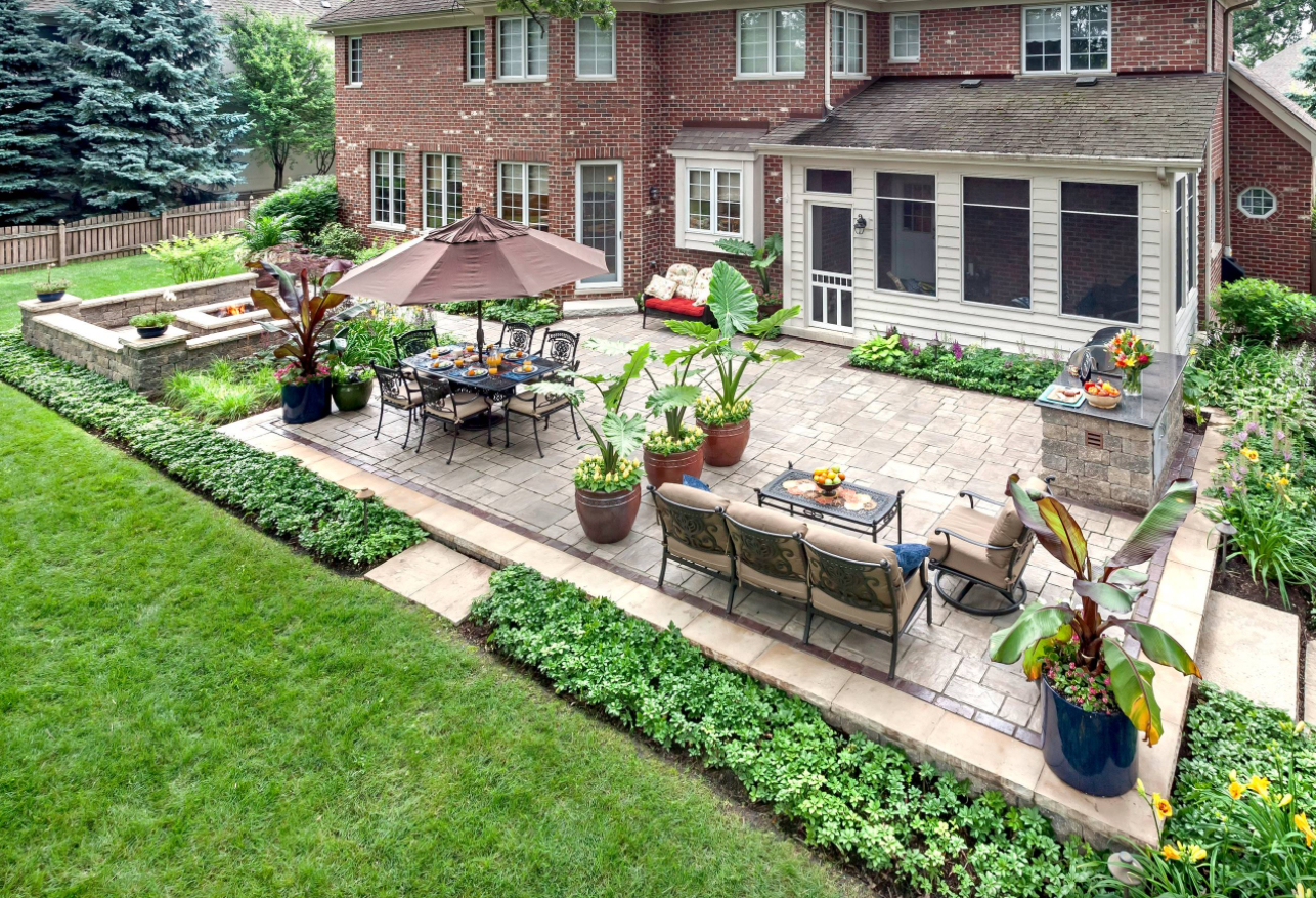 Prepare Your Yard For Spring With These Easy Landscaping Ideas pertaining to Long Backyard Ideas