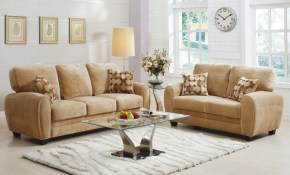Rubin 2 Piece Living Room Set Light Brown Microfiber Buy Online At with 14 Smart Ideas How to Craft Microfiber Living Room Set