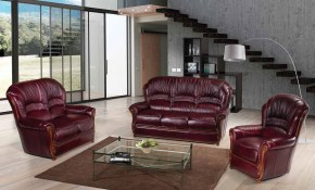 Sara Italian Leather Living Room Set 1stopbedrooms with Italian Leather Living Room Sets