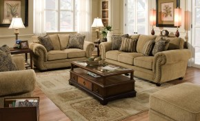 Simmons Upholstery 4277 Stationary Living Room Group Dunk Bright in Simmons Living Room Set