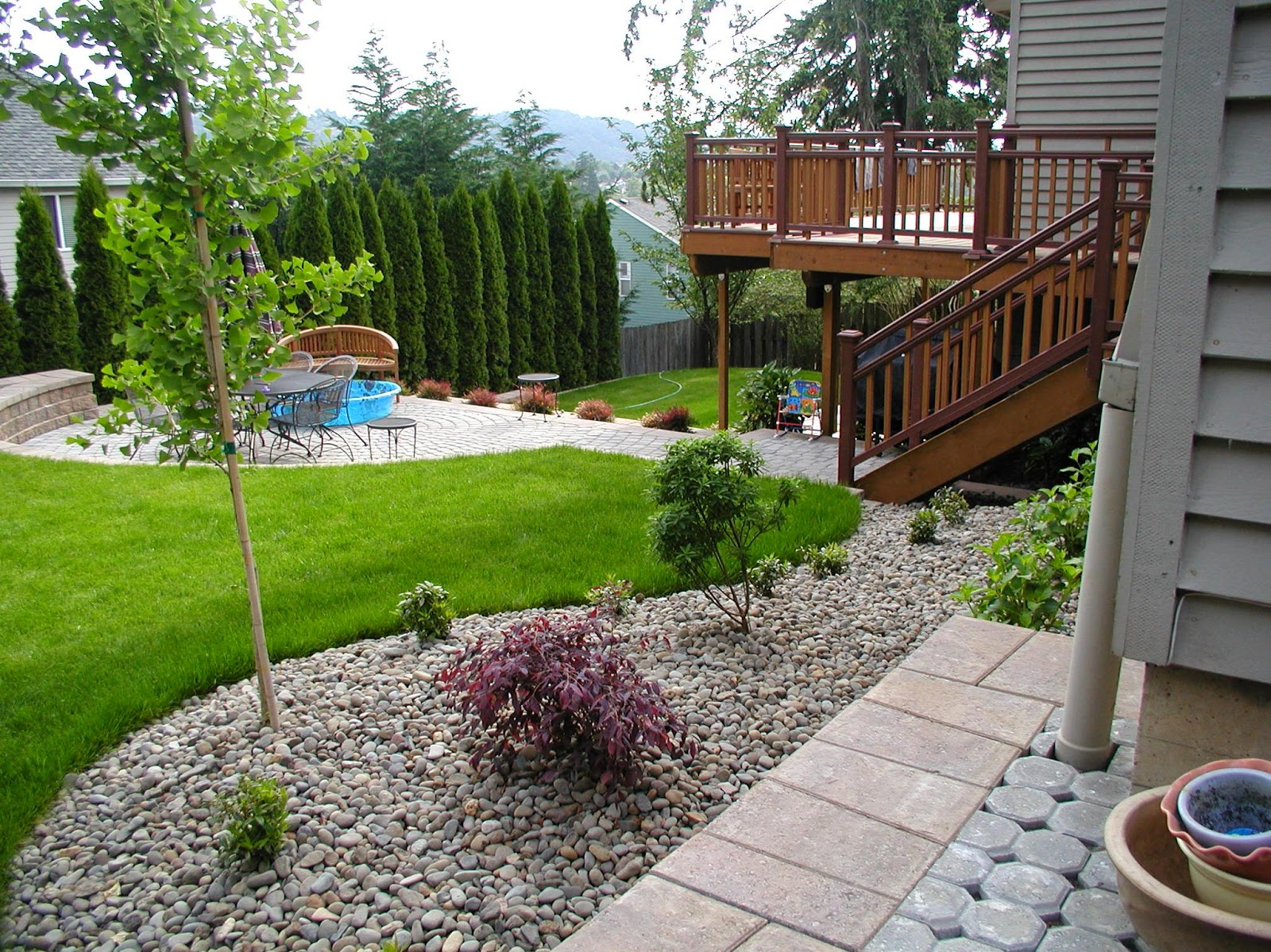 Sloped Backyard Landscaping Ideas Kumpulan Info Penting Dan Bermanfaat within Sloped Backyard Deck Ideas