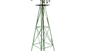 Sportsman 8 Ft Green Steel Classic Decorative Windmill Sm07251 within 11 Smart Concepts of How to Upgrade Decorative Backyard Windmill