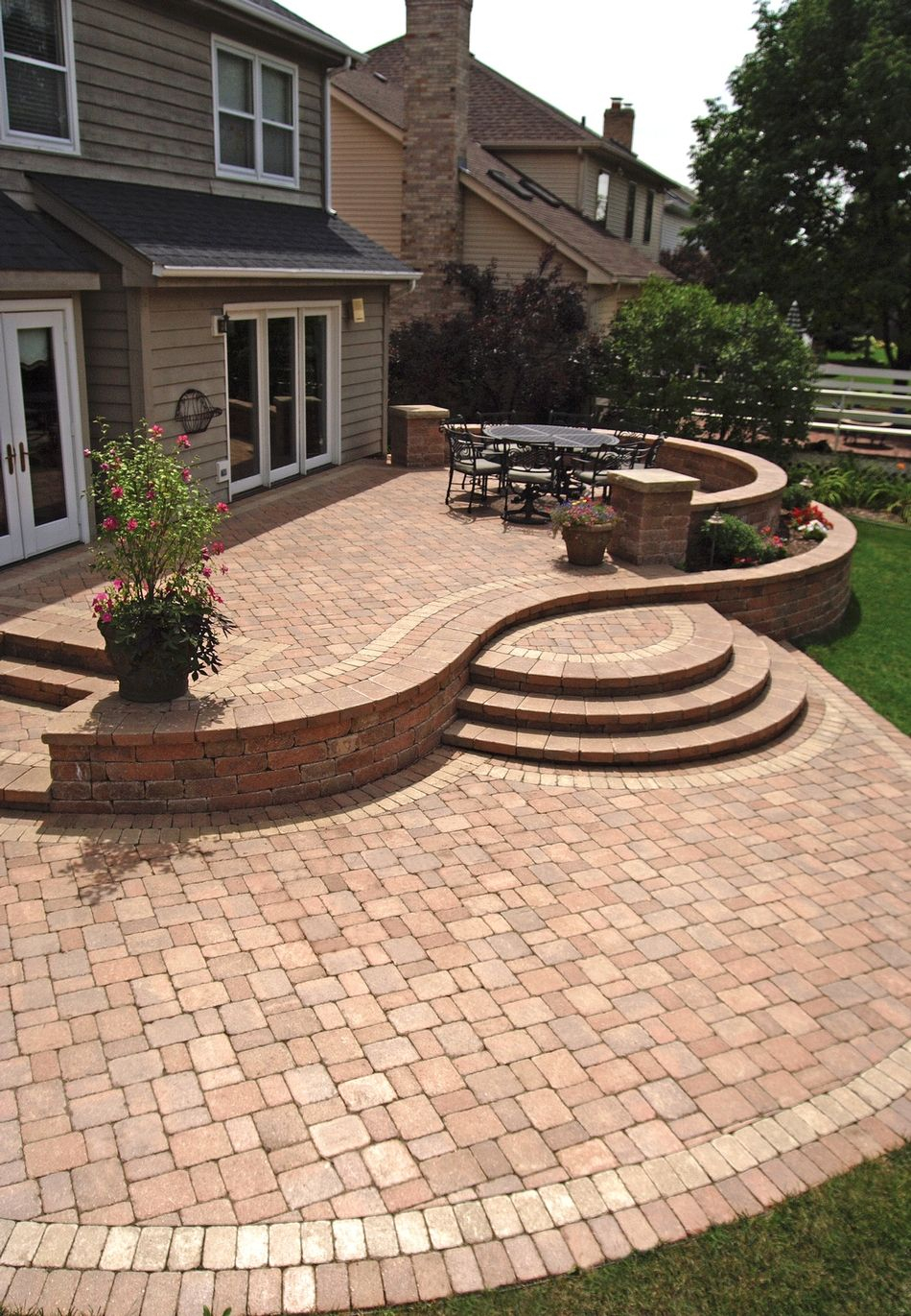 Stone Patio Designs Ideas Declaration Backyard Patio Designs in 11 Smart Initiatives of How to Craft Backyard Stone Patio Design Ideas