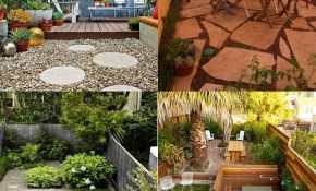 The New Gravel Backyard 10 Inspiring Landscape Designs Charts pertaining to Backyard Design Ideas For Small Yards