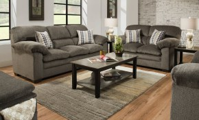 United Furniture Harlow Ash 3pc Living Room Set The Classy Home with regard to Simmons Living Room Set