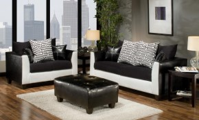 White Living Room Sets Living Room with regard to Black And White Living Room Set