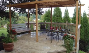 17 Free Pergola Plans You Can Diy Today pertaining to 14 Smart Initiatives of How to Make Small Backyard Pergola Ideas
