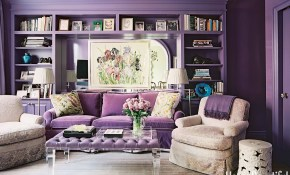 18 Best Purple Rooms Lavender Lilac And Violet Decorating Ideas throughout 12 Clever Ways How to Upgrade Purple Living Room Set