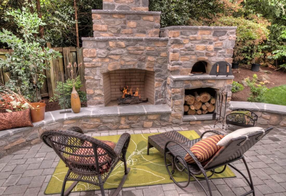 20 Of The Coolest Outdoor Fireplaces Freshome in 14 Smart Designs of How to Upgrade Backyard Fireplace Ideas