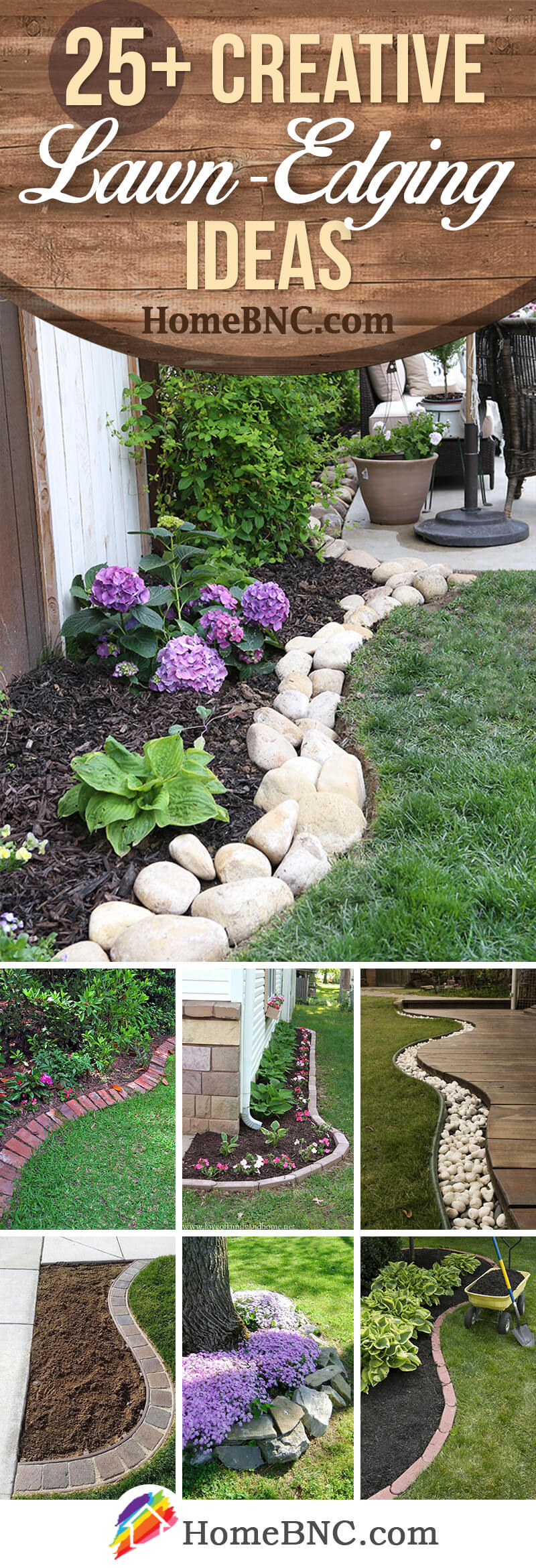 25 Best Lawn Edging Ideas And Designs For 2019 intended for Backyard Border Landscaping Ideas
