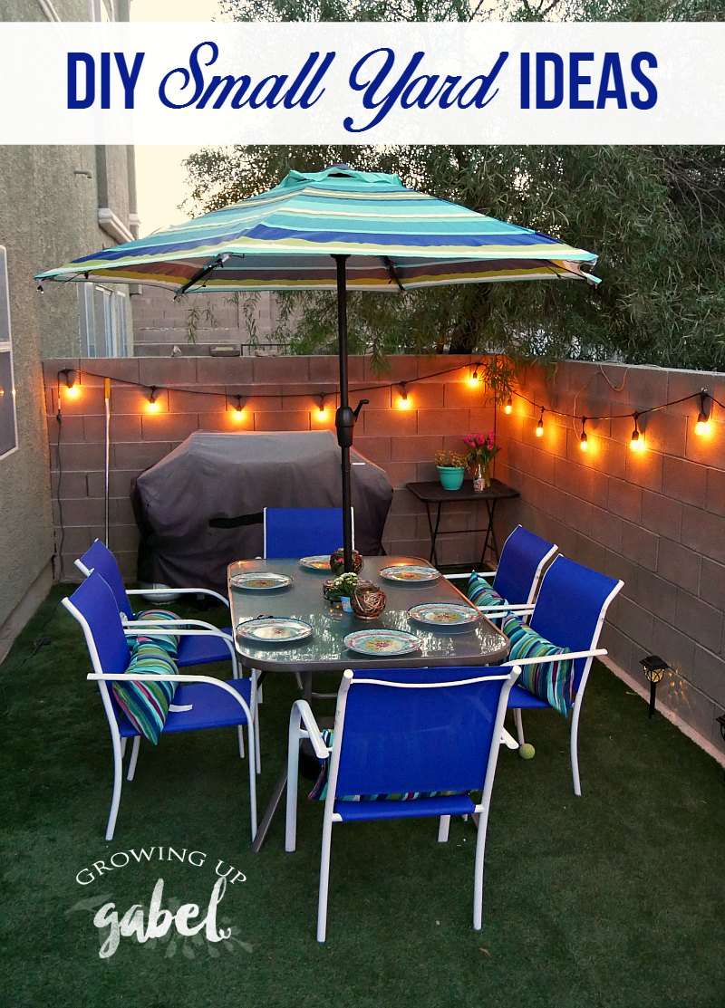 3 Small Backyard Ideas To Create An Outdoor Oasis pertaining to 15 Genius Concepts of How to Make Patios Ideas Small Backyards