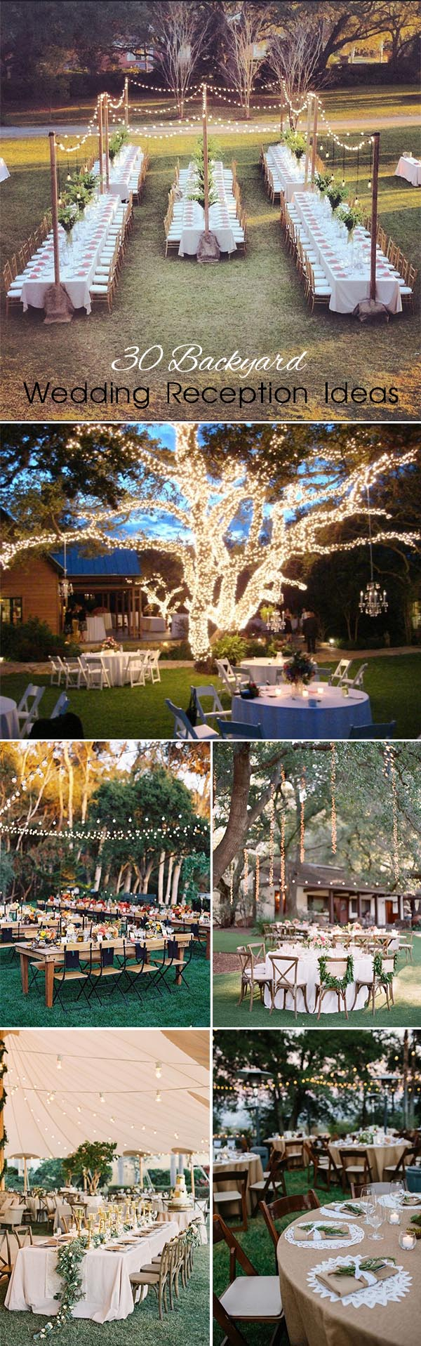 30 Sweet Ideas For Intimate Backyard Outdoor Weddings inside 12 Clever Tricks of How to Build Summer Backyard Wedding Ideas