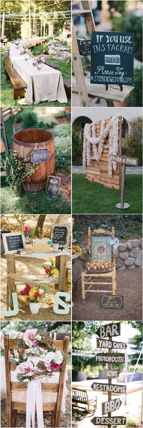 35 Rustic Backyard Wedding Decoration Ideas Deer Pearl Flowers inside 12 Clever Ideas How to Makeover Backyard Wedding Decorating Ideas