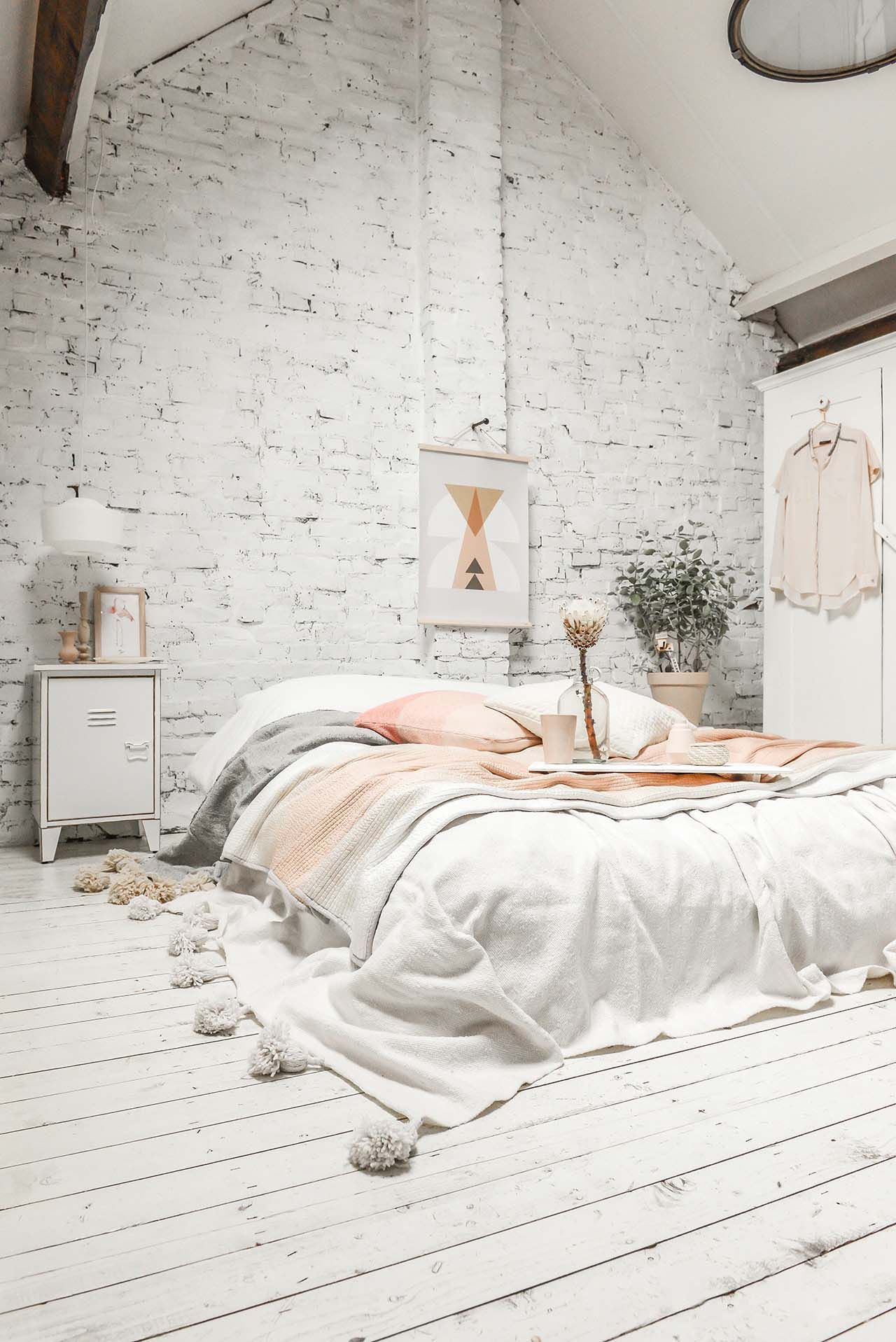 45 Scandinavian Bedroom Ideas That Are Modern And Stylish Bedroom intended for 11 Clever Tricks of How to Make White Modern Bedroom Ideas