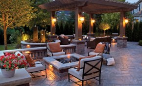 50 Best Outdoor Fire Pit Design Ideas For 2019 pertaining to Backyard Fireplace Ideas