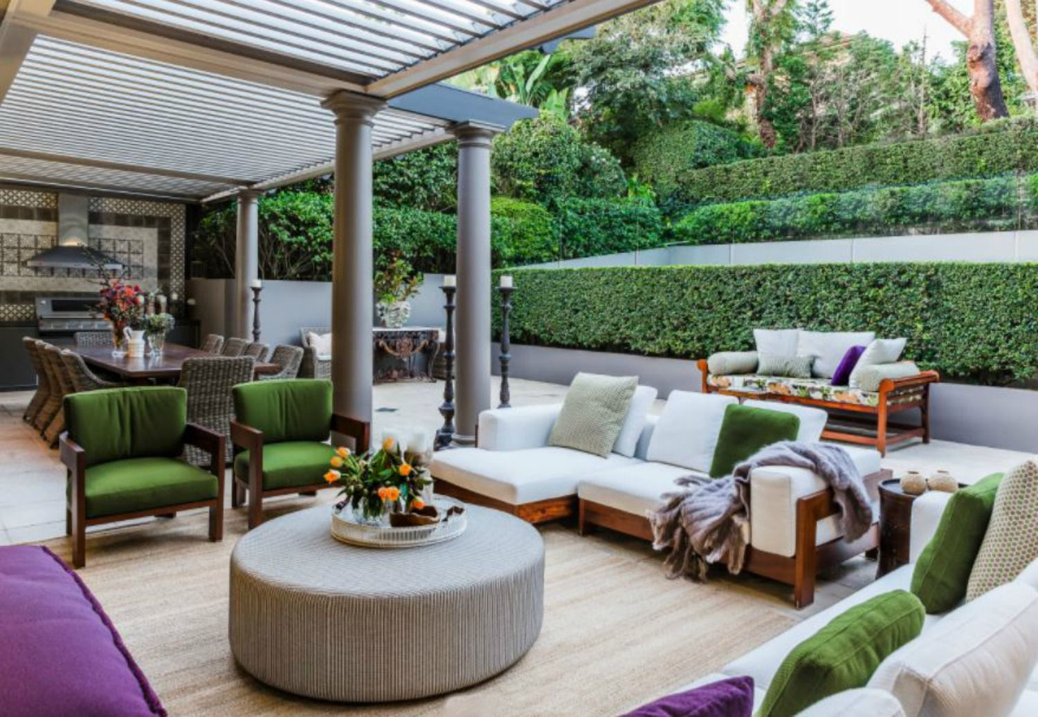 50 Outdoor Living Room Design Ideas with Backyard Outdoor Living Ideas