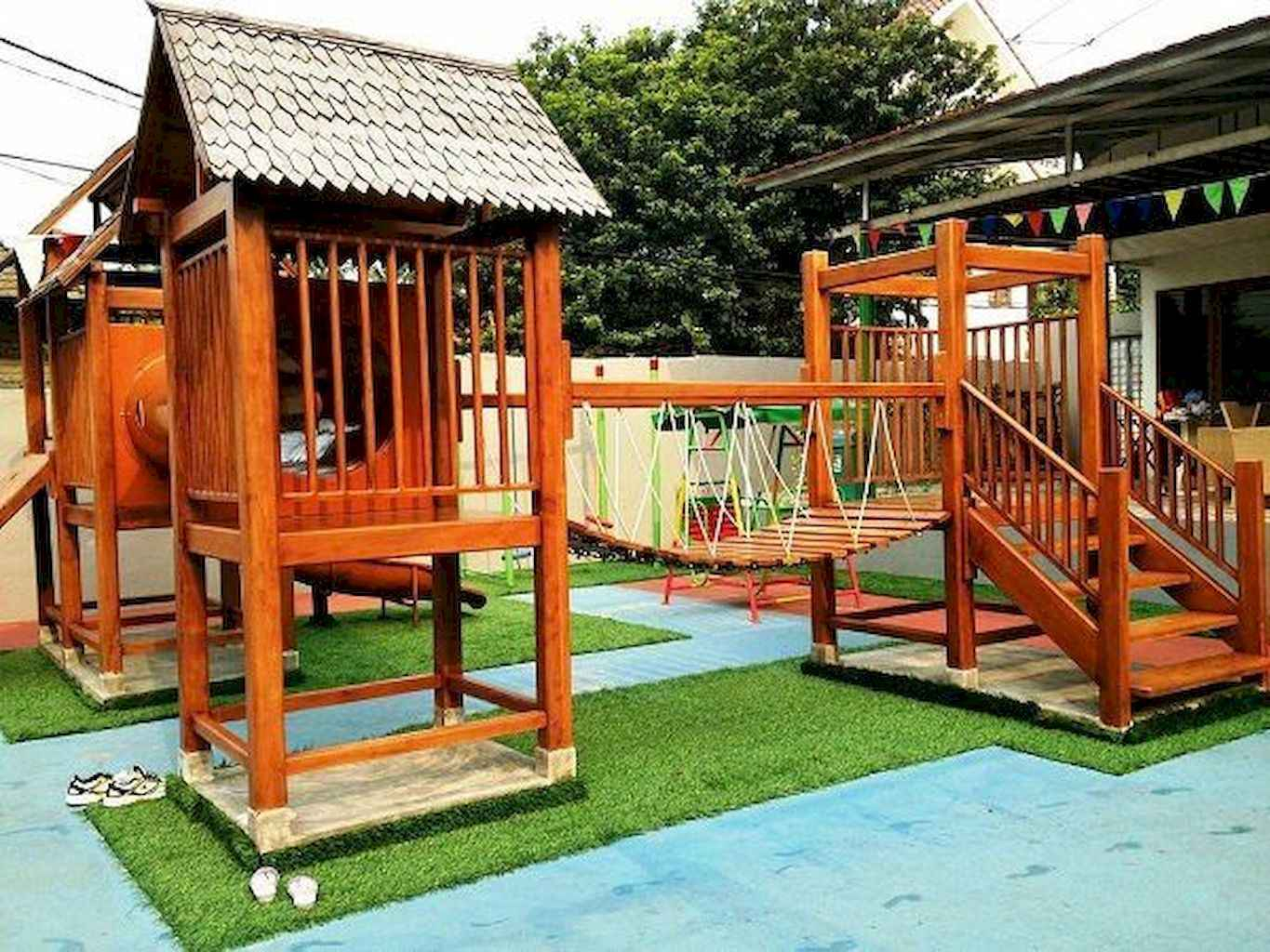 65 Creative Small Backyard Playground Kids Design Ideas Frontbackhome intended for 14 Awesome Designs of How to Improve Backyard Playground Ideas