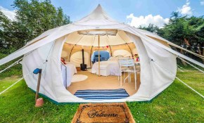 7 Cozy Tents And Outdoor Shelters regarding Backyard Tent Ideas