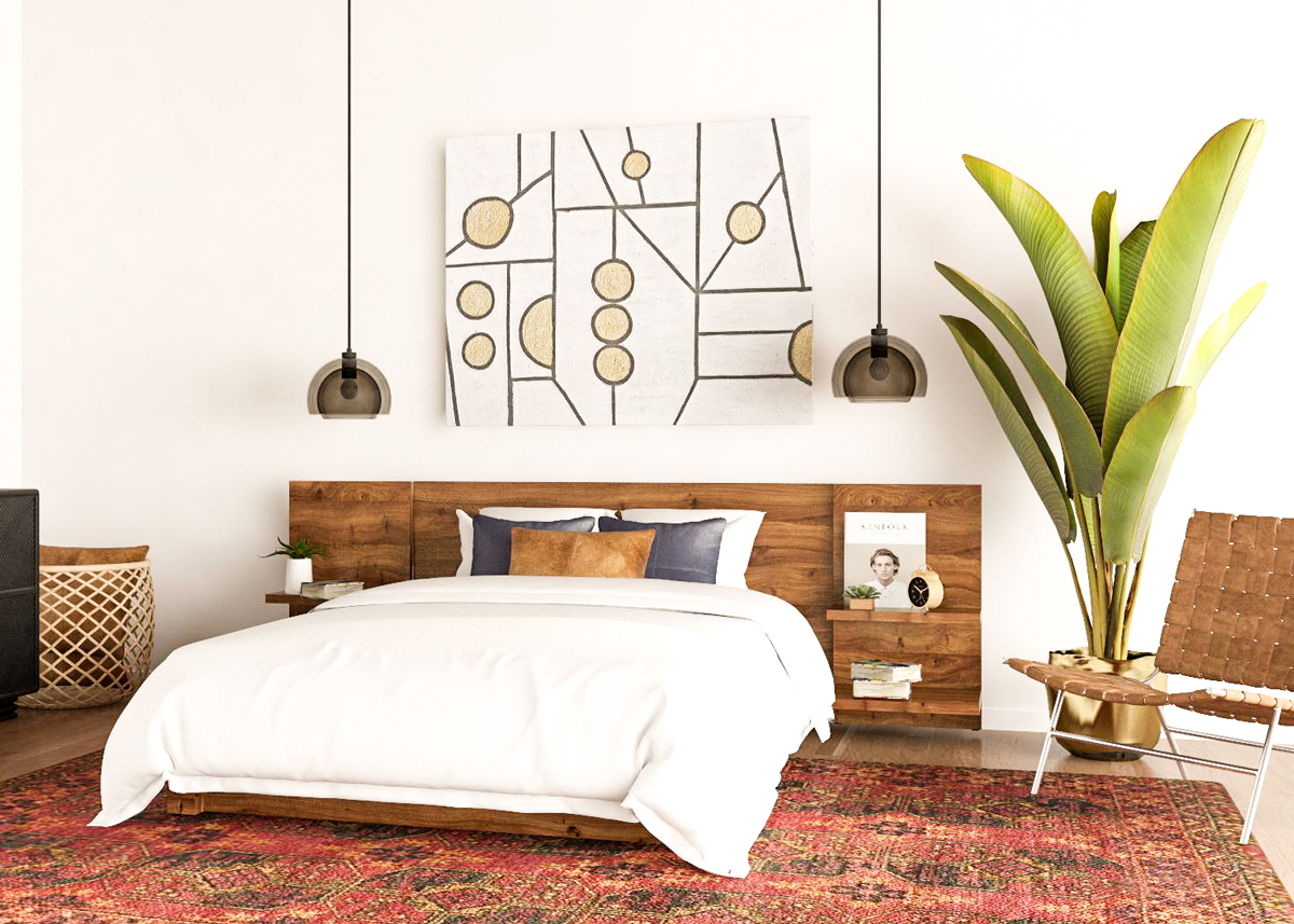 7 Mid Century Modern Bedroom Ideas To Try In Your Space intended for Modern Pictures For Bedroom