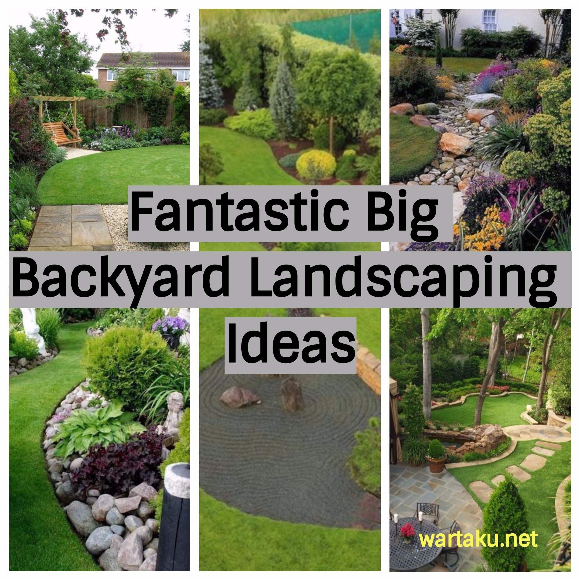 9 Wonderful Large Backyard Landscape Ideas Collection Home inside How To Landscape Backyard