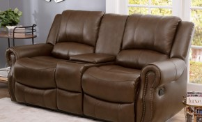Abson Calabasas Mesa Brown Leather 3 Piece Reclining Living Room Set intended for 14 Awesome Ideas How to Make Very Cheap Living Room Sets